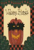 Halloween Welcome Friends