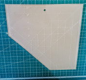 Pineapple Quilt Ruler - Quilting Template