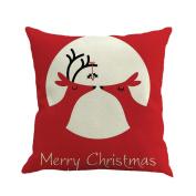 Halloween Decor Pillows Case, Paymenow Happy Halloween Linen Pillow Cover Sofa Bed Coffee Cushion Cover Home Decor
