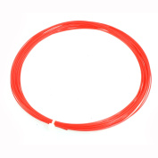 Unique Bargains 10M Length Sports Red Badminton Racket Racquet String 0.75mm Gauge