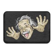 "Amusing Math Rectangular Doormat Funny Fashion-forward Diameter 40 X 60cm/15.7 X 23.6"" Memory Foam Rug"