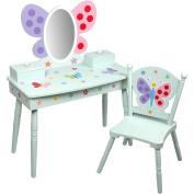 Olive Kids Butterfly Garden Vanity & Chair Set