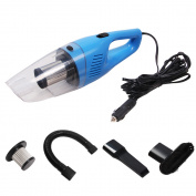 Car Vacuum Cleaner, AmyHomie High Power 12V-120W Handheld Car Vacuum Wet and Dry Suction Auto Vacuum Cleaner with LED Light Stainless Steel HEPA Filter