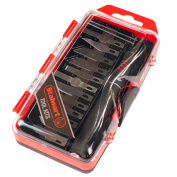 Hobby Knife Set with Scribe Needles 16 PC by Stalwart