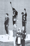 Black Power, Mexico City Olympics 1968 Poster - 24x36