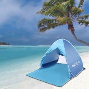 Portable Beach Shade Tent Sun Shelter, Instant Pop up Family Anti UV Cabana