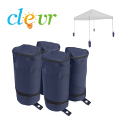 Clevr Universal Weight Bags Sand Bag for Popup Canopy Tent, Bags ONLY