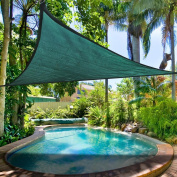 Clevr Outdoor Patio Sun Shade Sail 5mx5mx5m Triangle Canopy Cover
