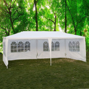 Ktaxon 3mx 6.1m Party Tent Outdoor Heavy Duty Gazebo Wedding Canopy Camping Tent BBQ Canopy w/4 Side Walls