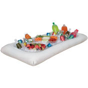 White Inflatable Buffet Cooler, 130cm x 70cm