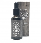 BEST DEAL Beard Oil & Conditioner- All Natural Unscented Organic Argan & Jojoba Oils - Promotes Beard Growth - Softens & Strengthens Beards and Moustaches for Men by Viking Revolution