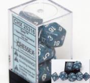 Chessex Polyhedral 7-Die Dice Set - Speckled Sea #25316