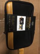 NEW Tri-Coastal Design MEN's Travel KIT Milagu Black 4pc & Zip Bag Set