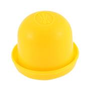 Game Dice Roller Cup Orange w 5 Dices