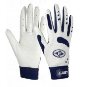 TYPHON WH/NY YS EASTON TYPHOON BATTING GLOVES WHITE/NAVY YOUTH SMALL