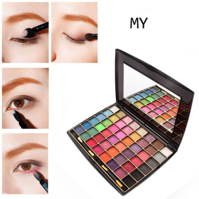 48 Colours Eyeshadow Palette Baomabao Luxury Golden Matte Nude Make up Beauty Eye Shadow Palettes (A)