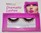 Select Lash Dramatic Lashes With Eyelash Glue
