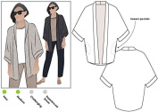 Style Arc Sewing Pattern - Besharl Jacket (Sizes 04-16) - Click for Other Sizes Available