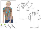 Style Arc Sewing Pattern - Dimity Woven Top (Sizes 18-30) - Click for Other Sizes Available
