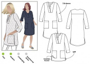 Style Arc Sewing Pattern - Roslyn Tunic Dress (Sizes 18-30) - Click for Other Sizes Available
