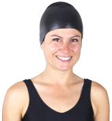Anti-Slip Adult Swim Cap for Men and Women by Start Smart