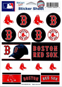 (HCW) Boston Red Sox Vinyl Sticker Sheet 13cm x 18cm Decals MLB Licenced Authentic