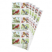 Songbirds in Snow Forever First Class Postage Stamps brighten cold winter days