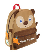 Personalised World of Eric Carle Brown Bear Back to School Backpack Book Bag - 30cm