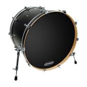 Evans EQ1 Resonant Black Bass Drum Head, 60cm