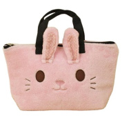 Kids insulated thermal lunch bag/ lunch box tote/ Bottle tote bag - Adorable, BPA free (Bunny Rabbit) kids bag is so easy for a toddler to carry. Great baby gift, Toddler gift, Gift for a child.