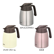 A special time ! It is thermos stainless steel pot thermal insulation cold storage pot thermal insulation pot cold storage pot desk pot desk stainless steel compact circle washing care simply care simple barley tea cold water water supply pot pot
