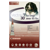 Vectra 3D for Dogs Over 43kg 6-Dose