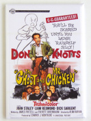 The Ghost and Mr. Chicken Movie Poster Fridge Magnet
