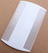 Nit Comb, Double Sided, Removes Nits, Lice and Fleas and Eggs from Short Haired Pets
