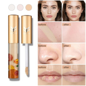Make-Up Cover Waterproof Natural Primer Faced Concealer Base Professional Beauty to Cover Up Dark Circles and Skin Imperfections by SMYTShop