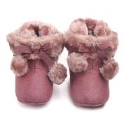 Vmree Baby Outdoor Stripe Shoes Infant Newborn Baby Boy Girl Slip First Walker Boots(0-12M)