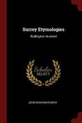 Surrey Etymologies