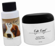 Eye Envy NR 59ml (2oz) Tear Stain Remover Solution for Dogs & Jar of Dry Pads
