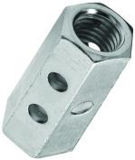 Stanley 182709 Coupling Nut, 1/2-13, Steel, Zinc Plated