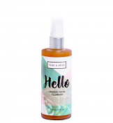 Hello-True and Olive's 98% organic face wash- deep cleaning, gentle foaming cleanser for complicated skin- sensitive, combination, oily, acne prone