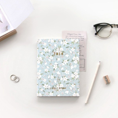 [Iconic] Pure-2018 Lively Diary / 2018 diary / planner / schduler / organiser