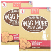 Cloud Star Wag More Oven Baked Grain Free Biscuits - 410ml Pumpkin