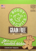 Cloud Star Grain Free Oven Baked Buddy Biscuits Dog Treats, Rotisserie Chicken, 410ml