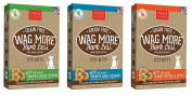Cloud Star Wag More Bark Less Grain Free Itty Bitty Baked 3 Flavour Variety Dog Treats Bundle