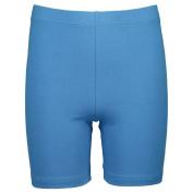 Basics Brand Girls' Coloured Bike Shorts