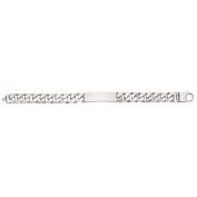 Sterling Silver Large ID Bracelet
