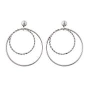 Stainless Steel Loop Earrings