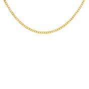 9ct Gold Flat Bevel Curb Chain