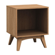 Solano Adriana Side Table Brown