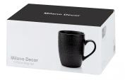 Milano Decor 6 Pcs Mug Set  -Black